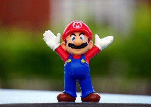 Een levensechte Super Mario