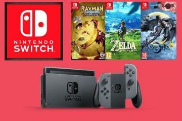 De Nintendo Switch overtreft elke verkoopverwachting in 2017