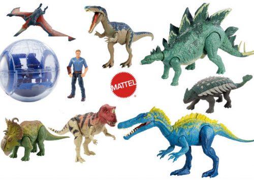 Digitaal Jurassic World speelgoed van Mattel
