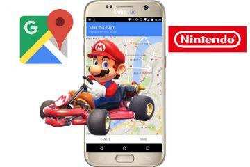 Laat je door Super Mario de weg wijzen in Google Maps