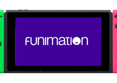 De Funimation streaming app voor de Switch