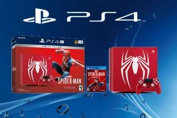 De unieke Spider-Man PS4 Pro Console verschijnt in september