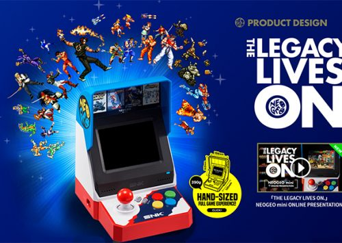 De Neo Geo Mini retro spelconsole komt naar Europa!