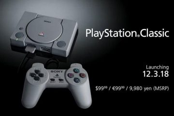 Sony gaat de PlayStation Classic console lanceren