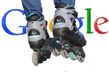 Samen met Google op de rolschaatsen
