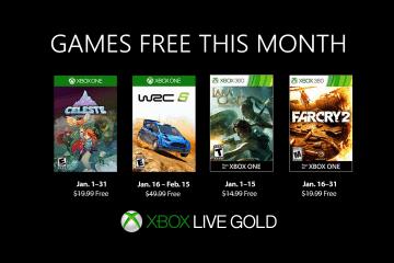 Gratis games voor Xbox Gold abonnementen in januari 2019