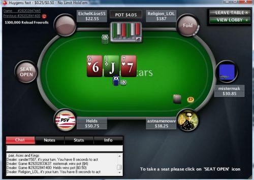 Nederlandse Pokerspelers vrijgesteld van kansspelbelasting